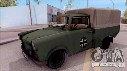 Trabant 601 German Military Pickup для GTA San Andreas