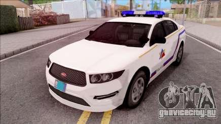 Vapid Police Interceptor Hometown PD 2012 для GTA San Andreas