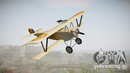 Nieuport 11 Bebe - Nr.1249 Romania для GTA San Andreas