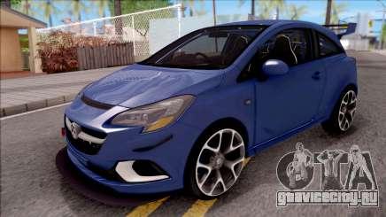 Vauxhall Corsa VXR 2016 для GTA San Andreas