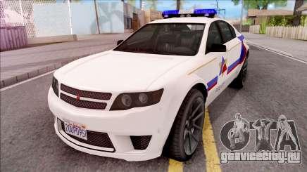 Cheval Fugitive Hometown PD 2012 для GTA San Andreas