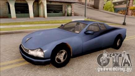 Cheetah from GTA 3 для GTA San Andreas
