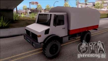 Mercedes-Benz Unimog Vojno Vozilo для GTA San Andreas