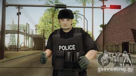 New SWAT Skin для GTA San Andreas