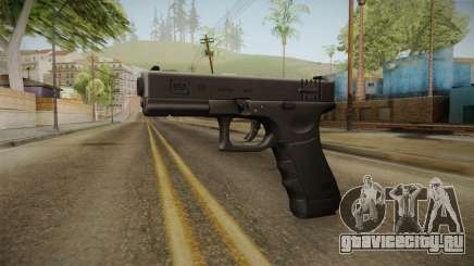 Glock 18 3 Dot Sight Pink Magenta для GTA San Andreas
