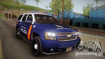Chevrolet Tahoe Spanish Police для GTA San Andreas