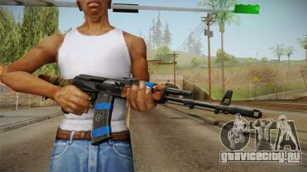 Contract Wars - AK-74 для GTA San Andreas