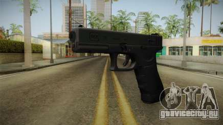 Glock 18 3 Dot Sight Green для GTA San Andreas