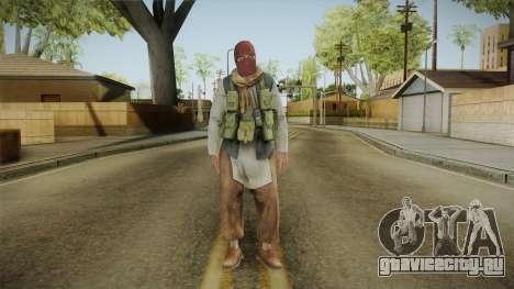Medal Of Honor 2010 Taliban Skin v1 для GTA San Andreas второй скриншот