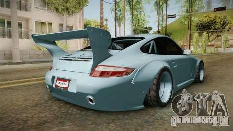 Porsche 997 Old & New 2008 для GTA San Andreas вид справа