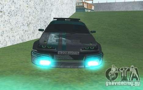 ВАЗ 2114 GTR SLS AMG для GTA San Andreas вид сзади