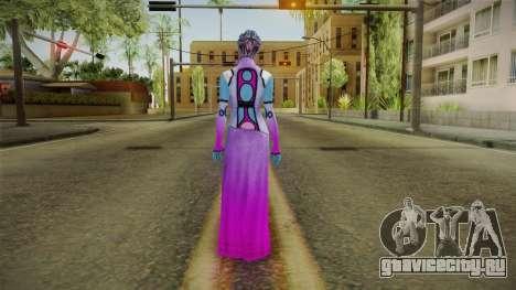 Mass Effect 3 Shaira Dress для GTA San Andreas третий скриншот