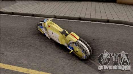 Dodge Tomahawk Gold для GTA San Andreas вид слева