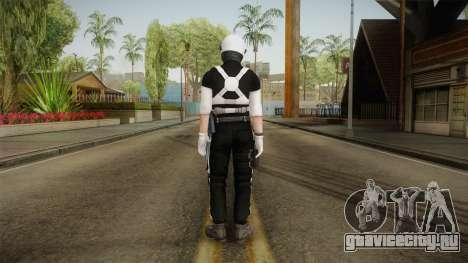 Mirror Edge Riot Cop v2 для GTA San Andreas