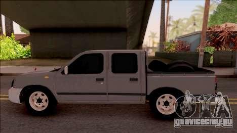Nissan Ddsen Skrab 2016 для GTA San Andreas вид слева