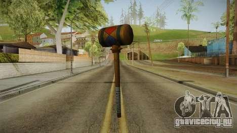 Harley Quinn Hammer для GTA San Andreas второй скриншот