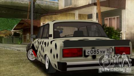 ВАЗ 2105 Боевая Классика для GTA San Andreas вид слева