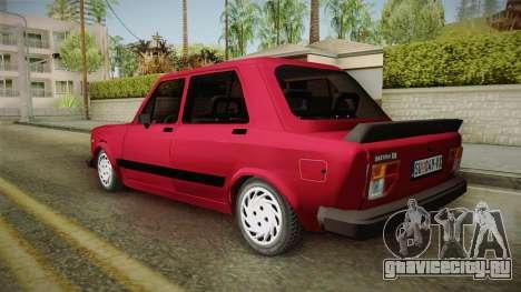 Zastava-Fiat 128 для GTA San Andreas вид слева