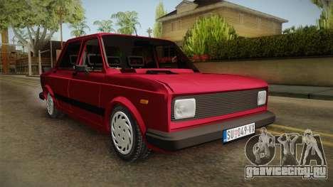 Zastava-Fiat 128 для GTA San Andreas вид справа