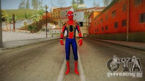 Marvel Cinematic Universe - Ironspider для GTA San Andreas второй скриншот