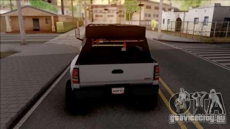 GMC Topkick C4500 Off-Road для GTA San Andreas вид сзади слева
