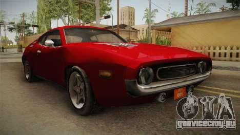 Driver PL - Cerrano для GTA San Andreas вид справа