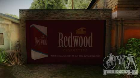 New CJ House Garage V2 для GTA San Andreas третий скриншот