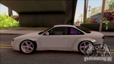 Nissan 200SX Drift Rocket Bunny для GTA San Andreas вид слева