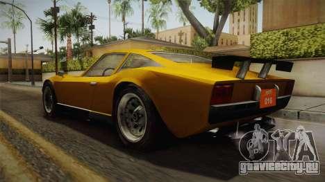 Driver PL - Melizzano для GTA San Andreas вид сзади слева