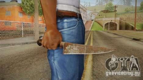 Silent Hill Downpour - Knife SH DP v2 для GTA San Andreas третий скриншот