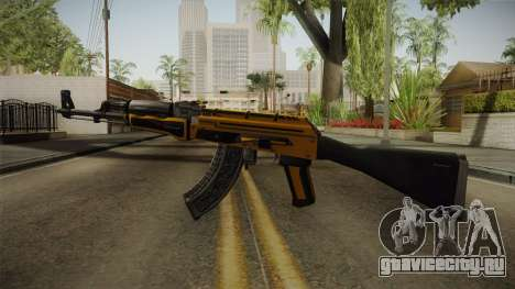 CS: GO AK-47 Fuel Injector Skin для GTA San Andreas второй скриншот