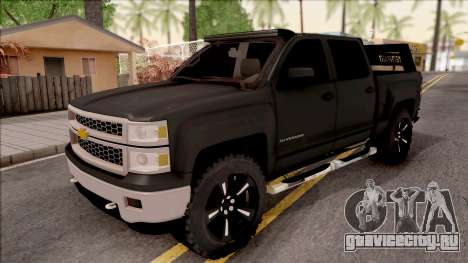 Chevrolet Silverado 2015 Off-Road для GTA San Andreas