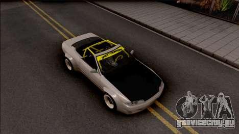 Nissan Skyline R32 Cabrio Drift Rocket Bunny для GTA San Andreas вид справа
