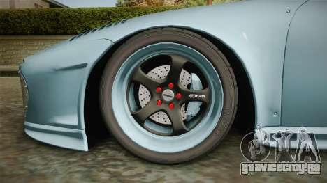 Porsche 997 Old & New 2008 для GTA San Andreas вид сзади
