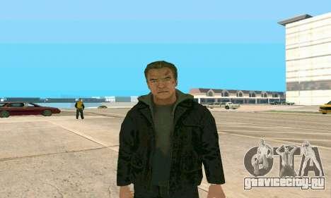 Arnold Schwarzenegger Terminator Genisys для GTA San Andreas второй скриншот