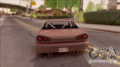 New Elegy v2 для GTA San Andreas вид сзади слева