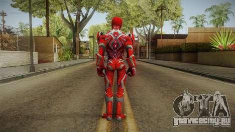 Red Ranger Skin для GTA San Andreas третий скриншот