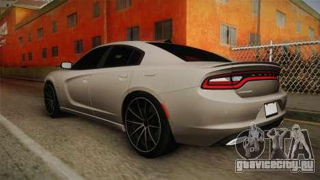 Dodge Charger Hellcat для GTA San Andreas вид слева