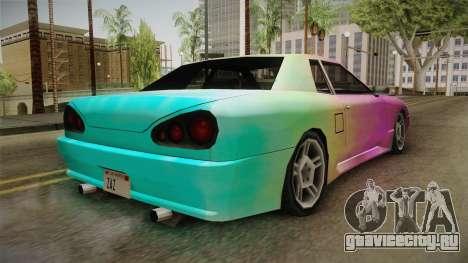 New Elegy Paintjob v2 для GTA San Andreas вид справа