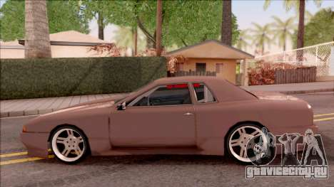 New Elegy v2 для GTA San Andreas вид слева