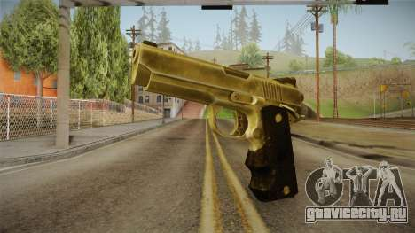 Silent Hill Downpour - Golden Gun SH DP для GTA San Andreas