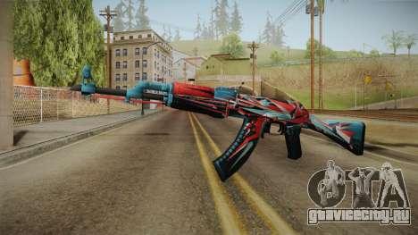 CS: GO AK-47 Point Disarray Skin для GTA San Andreas