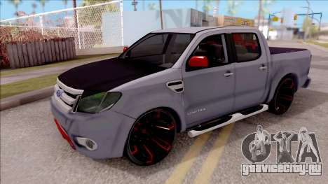 Ford Ranger 2014 Edition Flux Som для GTA San Andreas
