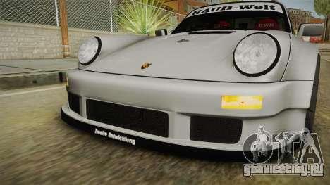 Porsche 911 RWB Terror 1982 для GTA San Andreas вид сверху