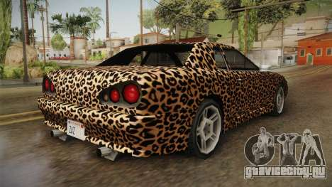 New Elegy Paintjob v3 для GTA San Andreas вид сзади слева