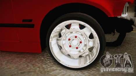 BMW E36 Sedan для GTA San Andreas вид сзади