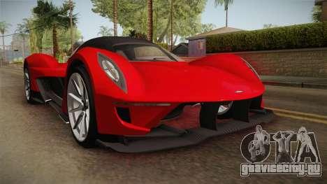 GTA 5 Dewbauchee Vagner SA для GTA San Andreas
