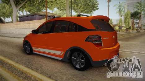 Chevrolet Agile Crossport Edition для GTA San Andreas вид сзади слева