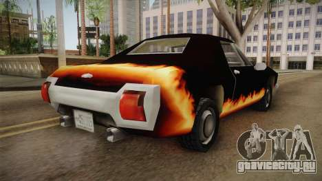 GTA SA DLC - Diablo Stallion для GTA San Andreas вид сзади слева