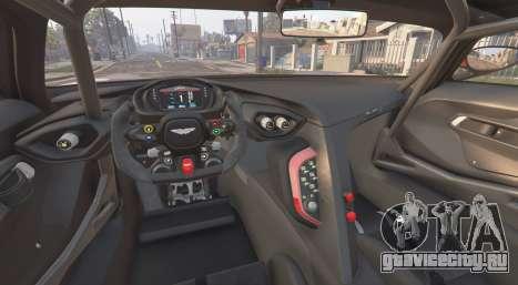 Aston Martin Vulcan 2016 [add-on] для GTA 5 вид сзади справа